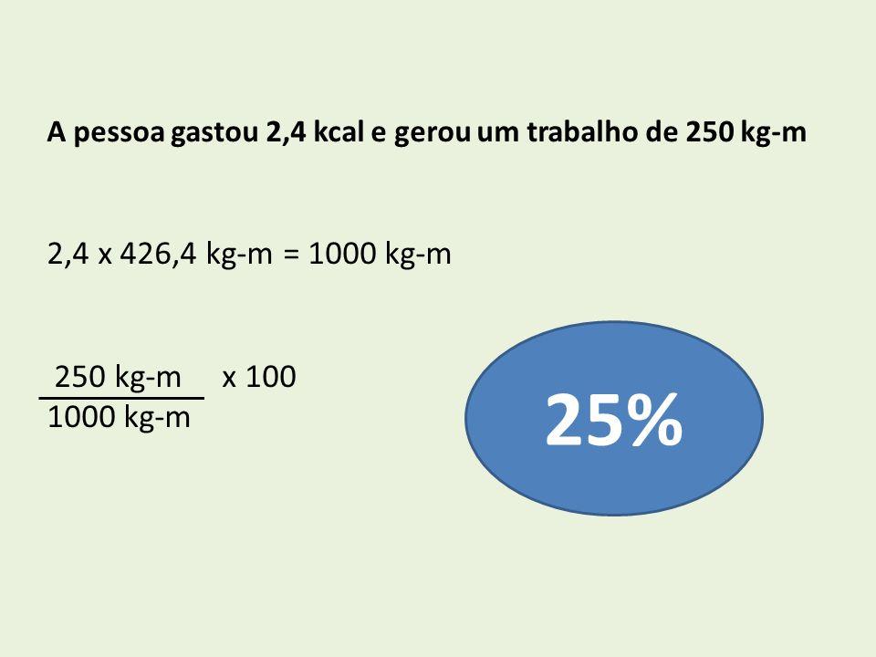 25% 2,4 x 426,4 kg-m = 1000 kg-m 250 kg-m x 100 1000 kg-m