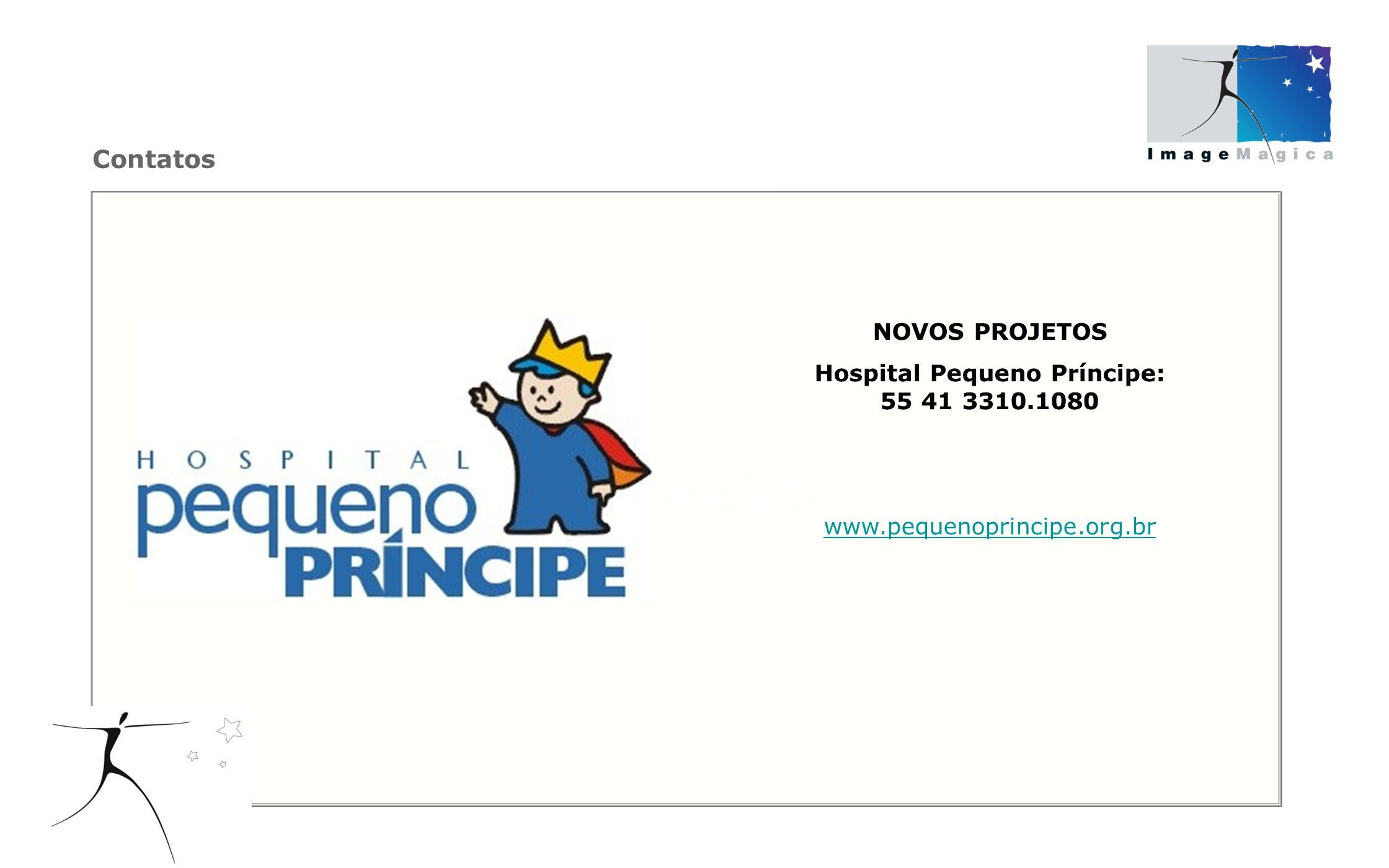 Hospital Pequeno Príncipe: 55 41 3310.1080