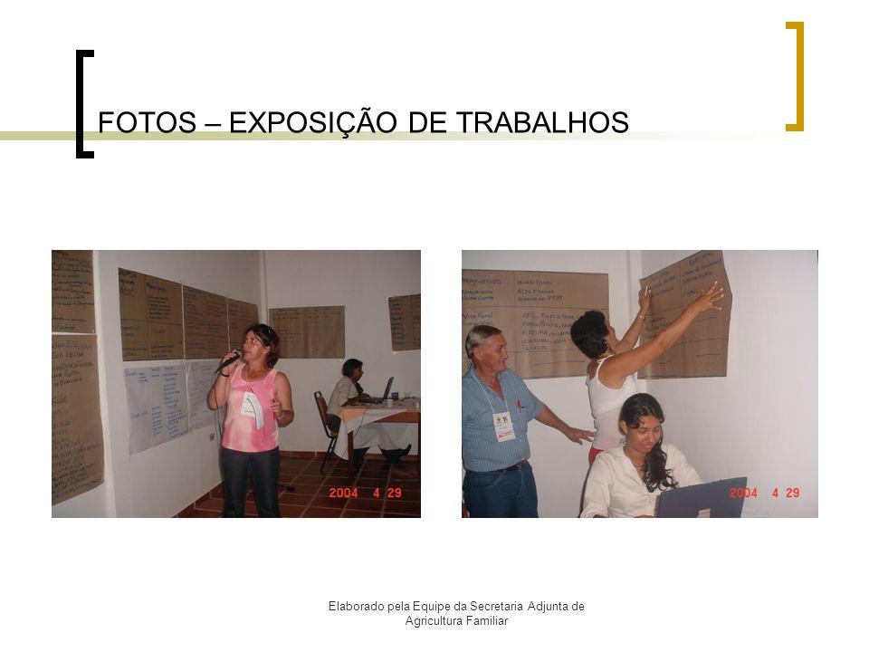 FOTOS – EXPOSIÇÃO DE TRABALHOS
