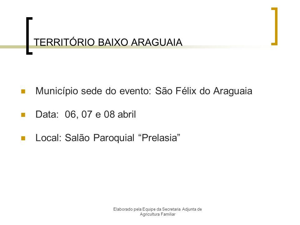 TERRITÓRIO BAIXO ARAGUAIA