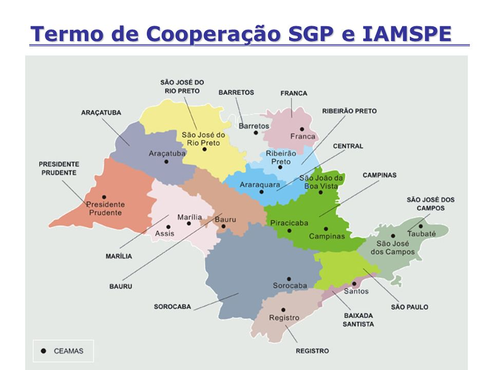 Termo de Cooperação SGP e IAMSPE