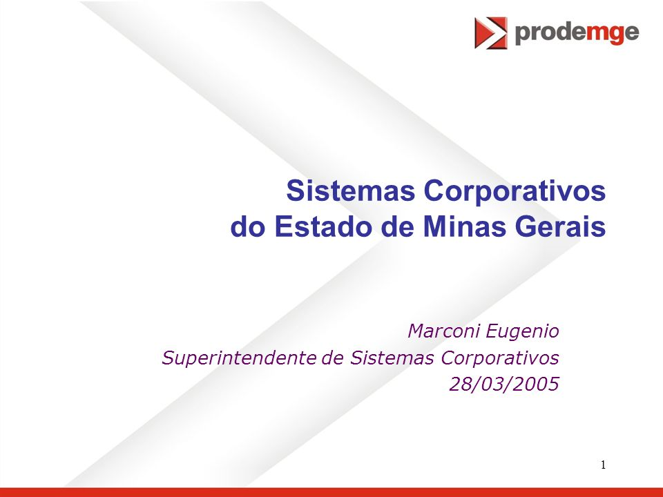 Sistemas Corporativos do Estado de Minas Gerais