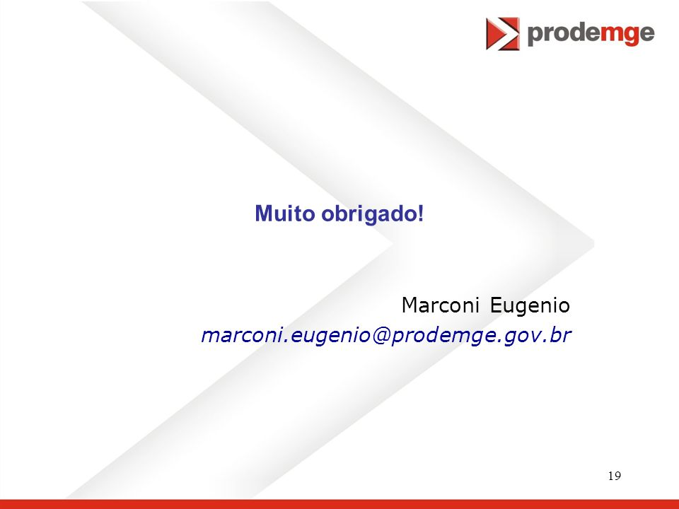 Marconi Eugenio marconi.eugenio@prodemge.gov.br