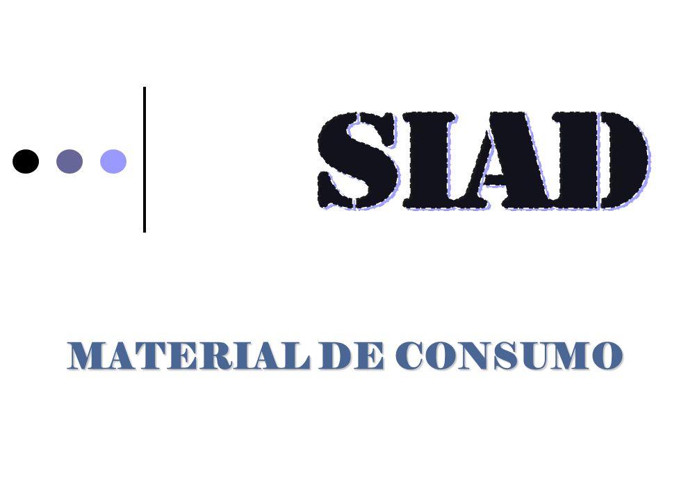 SIAD MATERIAL DE CONSUMO