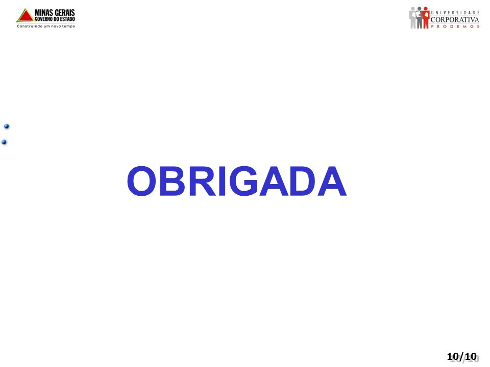 OBRIGADA 10/10