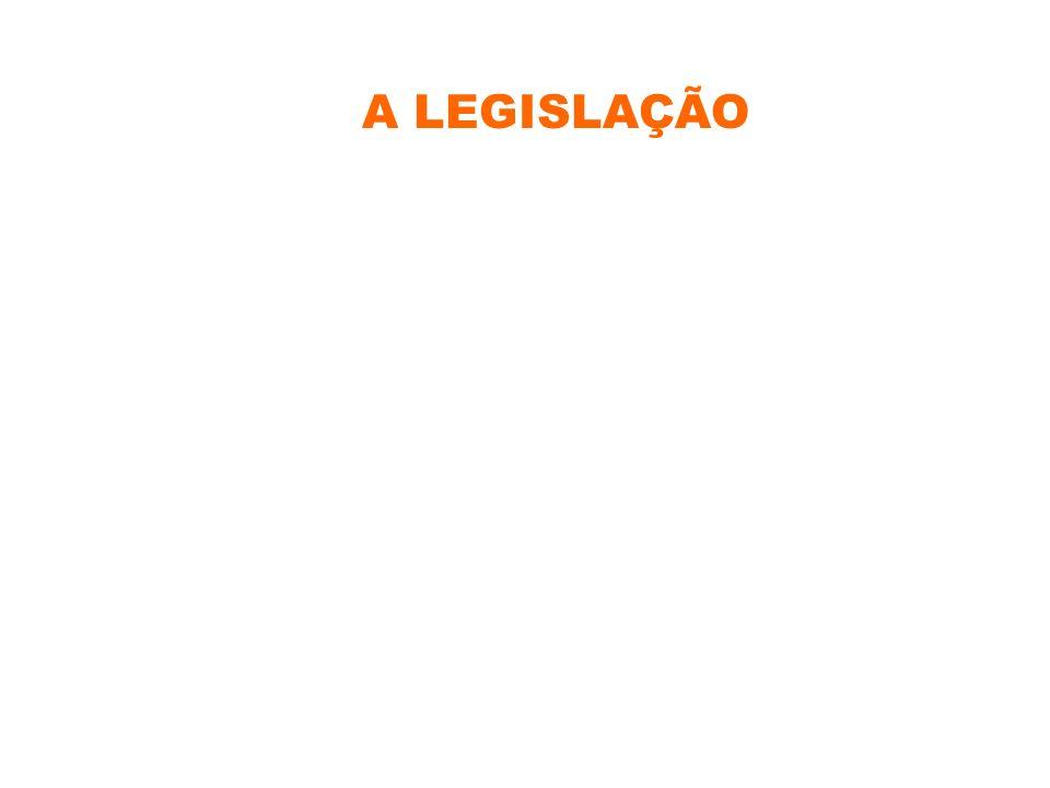 A LEGISLAÇÃO