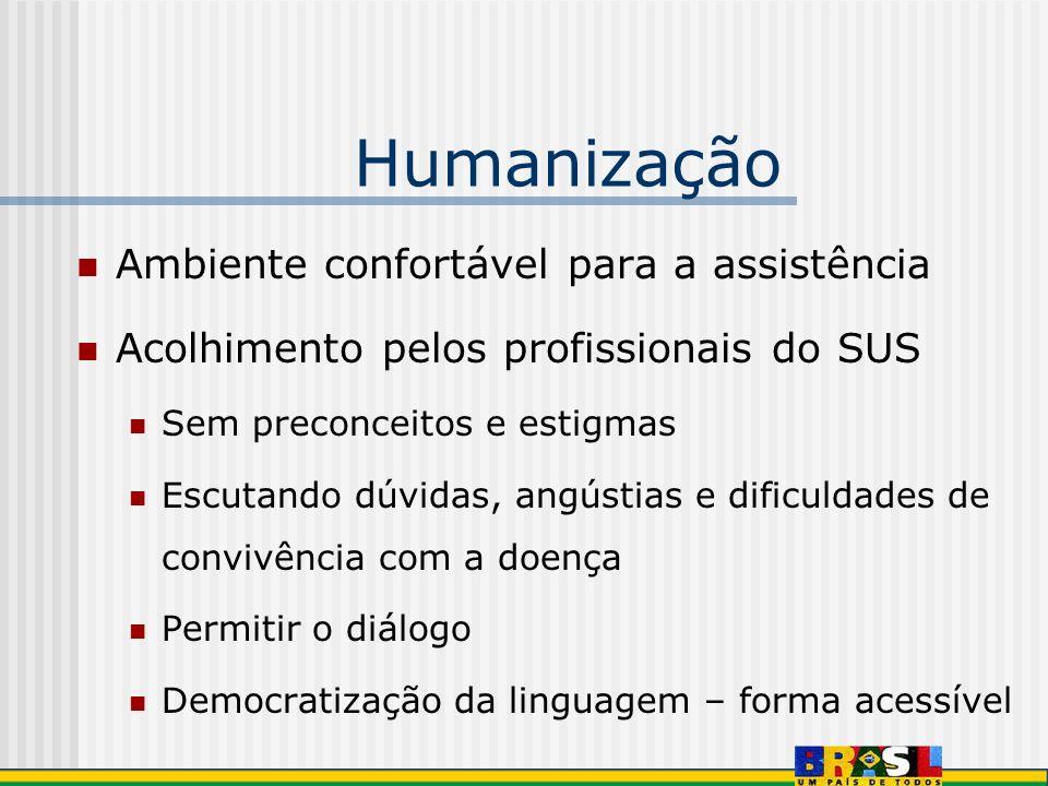 Humanização Ambiente confortável para a assistência