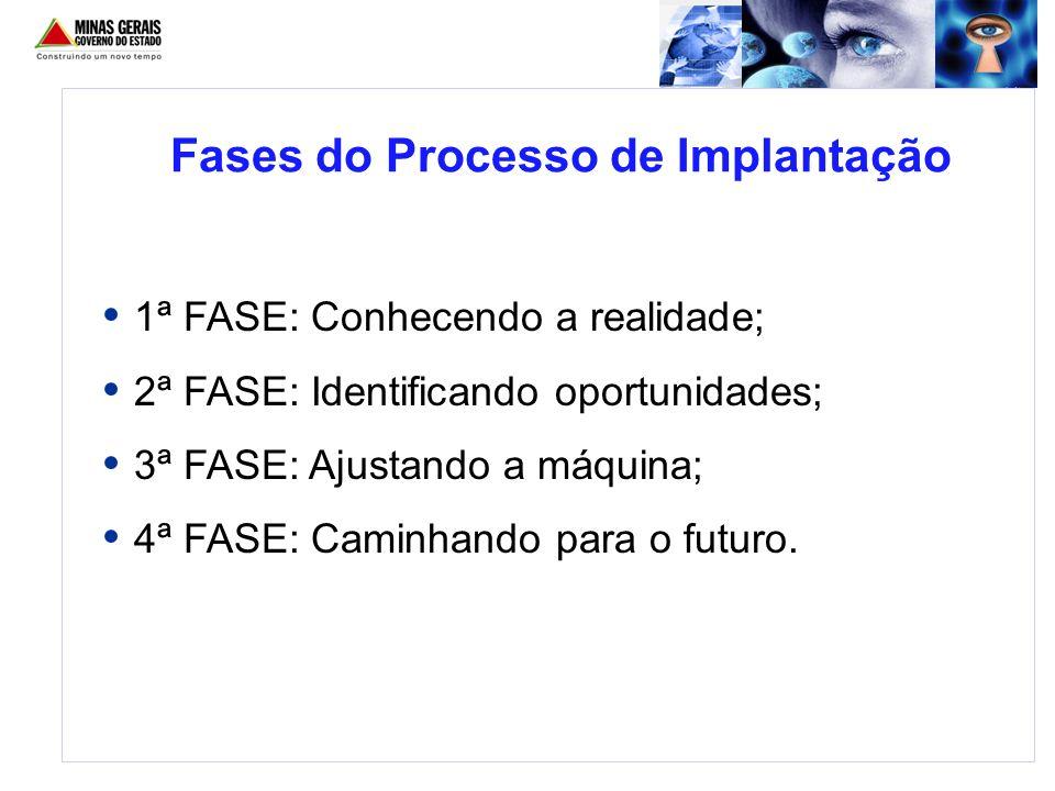 Fases do Processo de Implantação