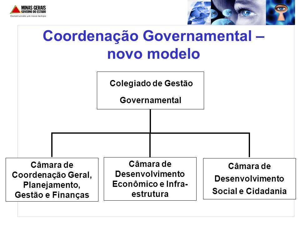 Coordenação Governamental – novo modelo