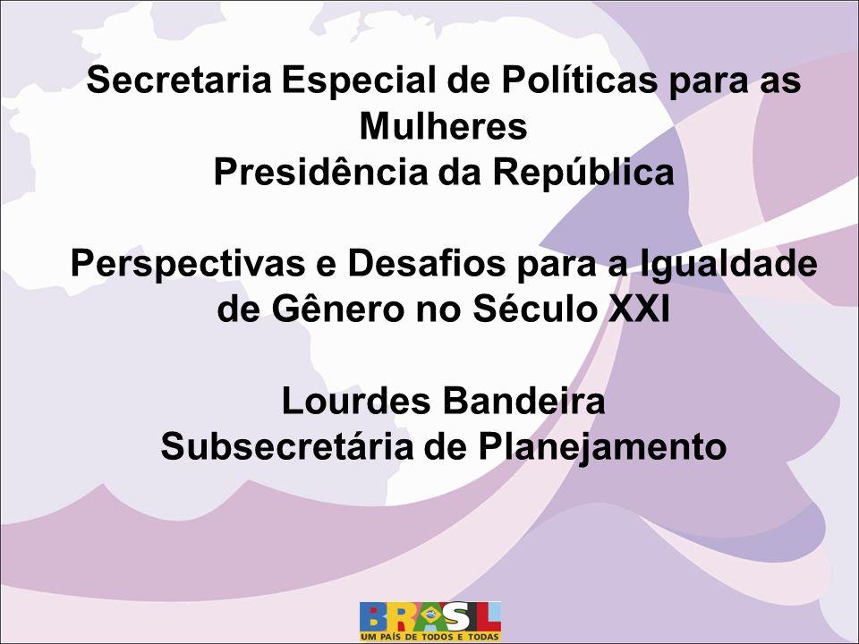 Secretaria Especial de Políticas para as Mulheres
