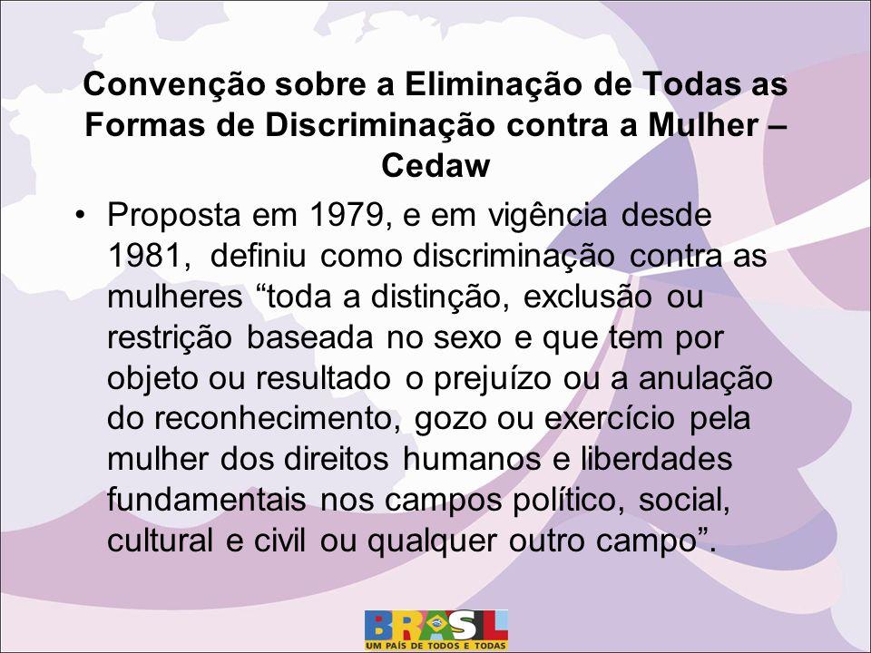 Convenção sobre a Eliminação de Todas as Formas de Discriminação contra a Mulher – Cedaw