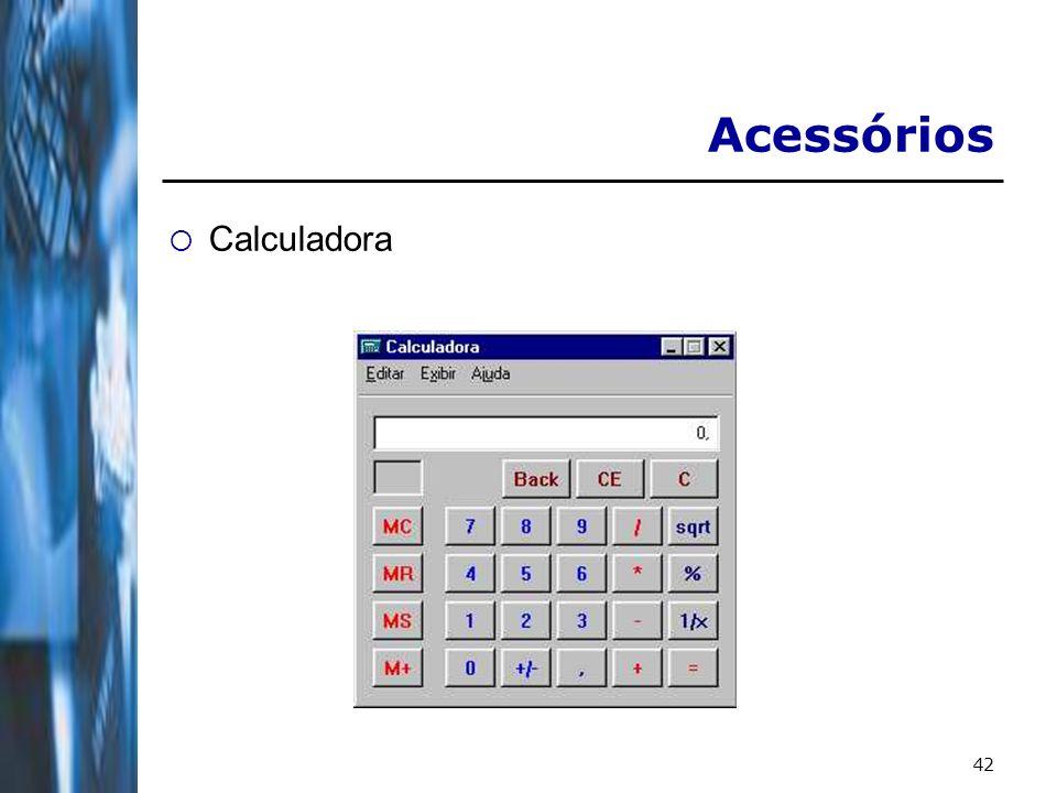 Acessórios Calculadora