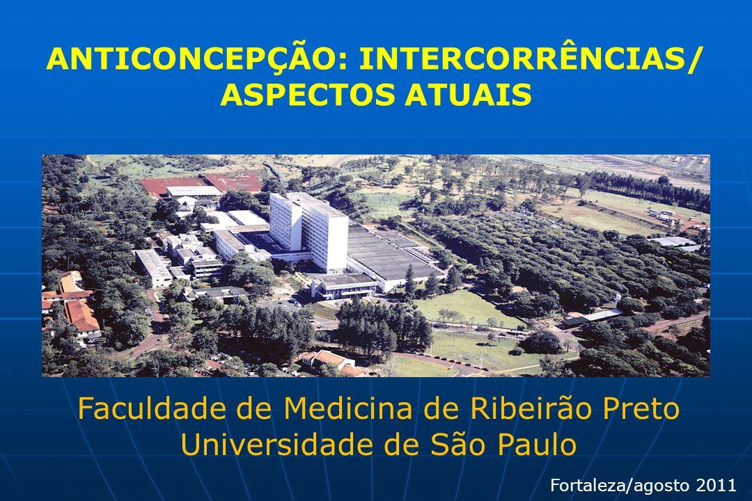 ANTICONCEPÇÃO: INTERCORRÊNCIAS/ ASPECTOS ATUAIS