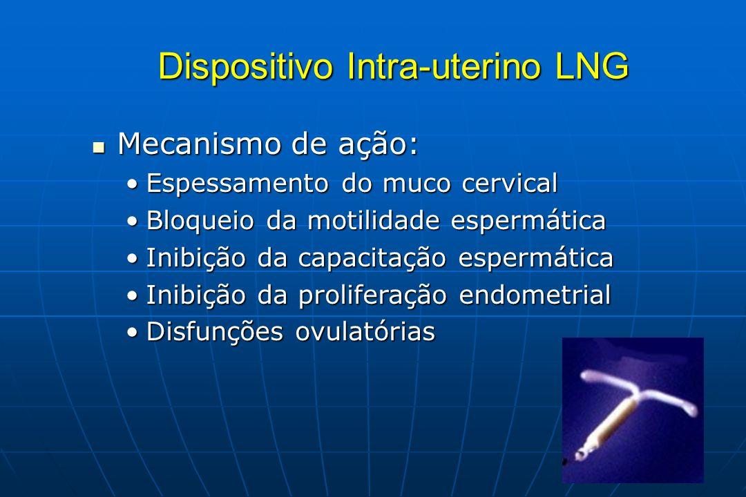 Dispositivo Intra-uterino LNG