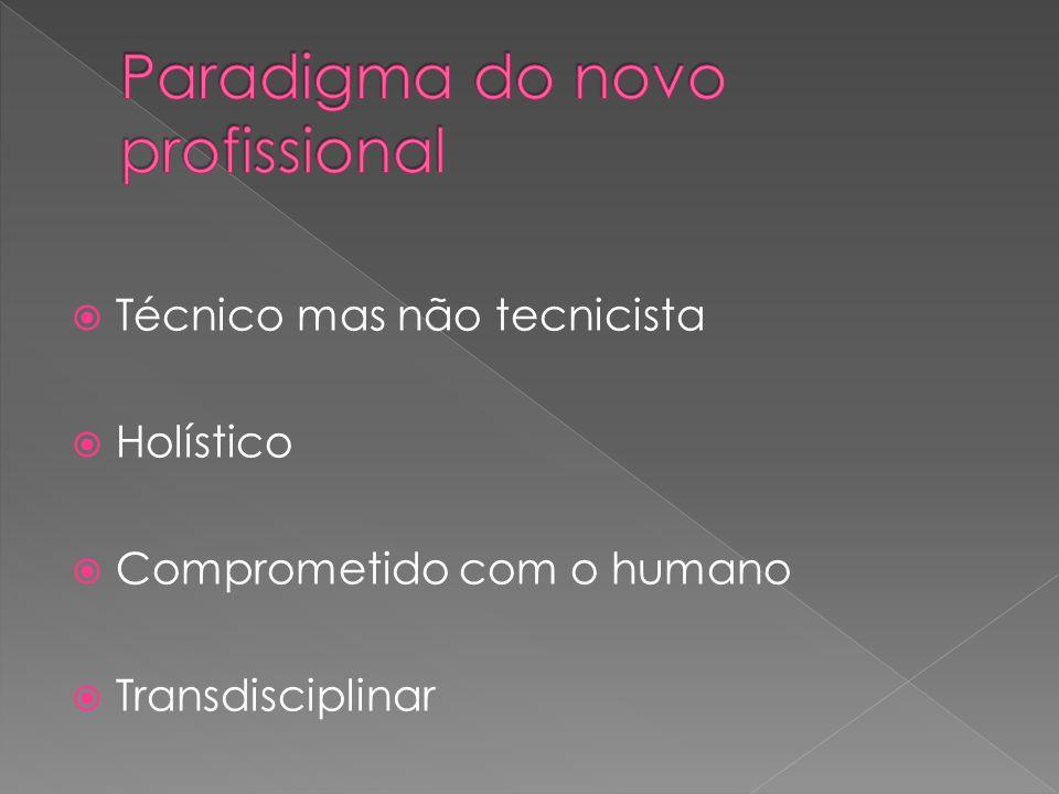 Paradigma do novo profissional
