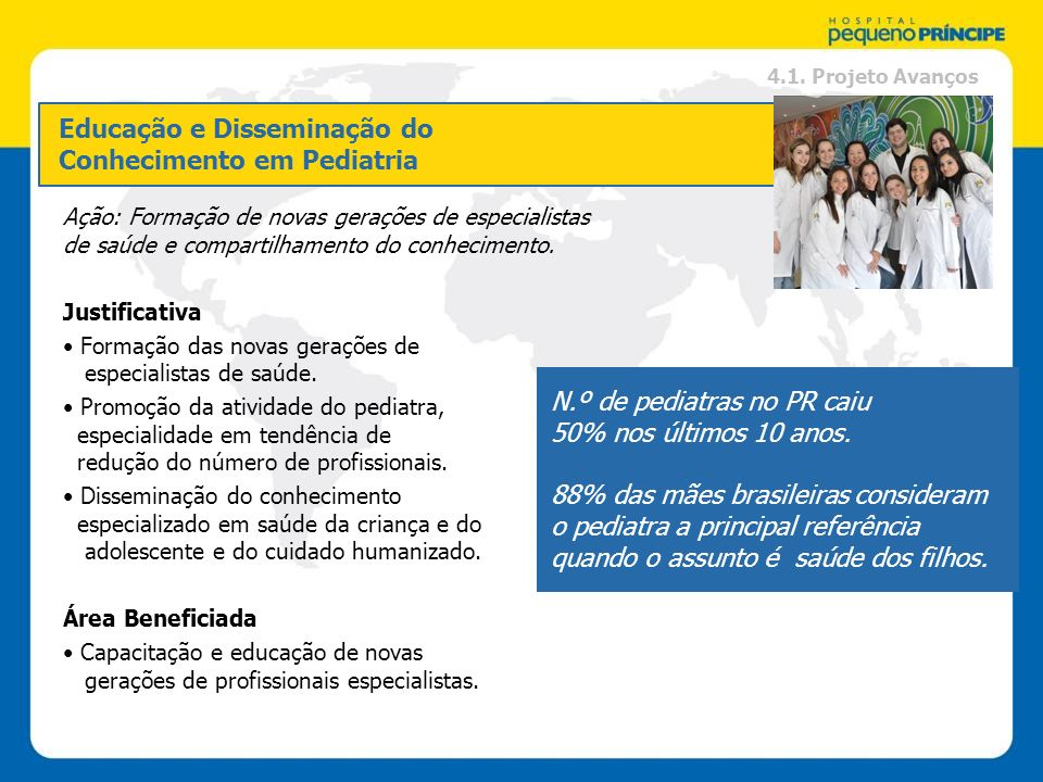 Educação e Disseminação do Conhecimento em Pediatria