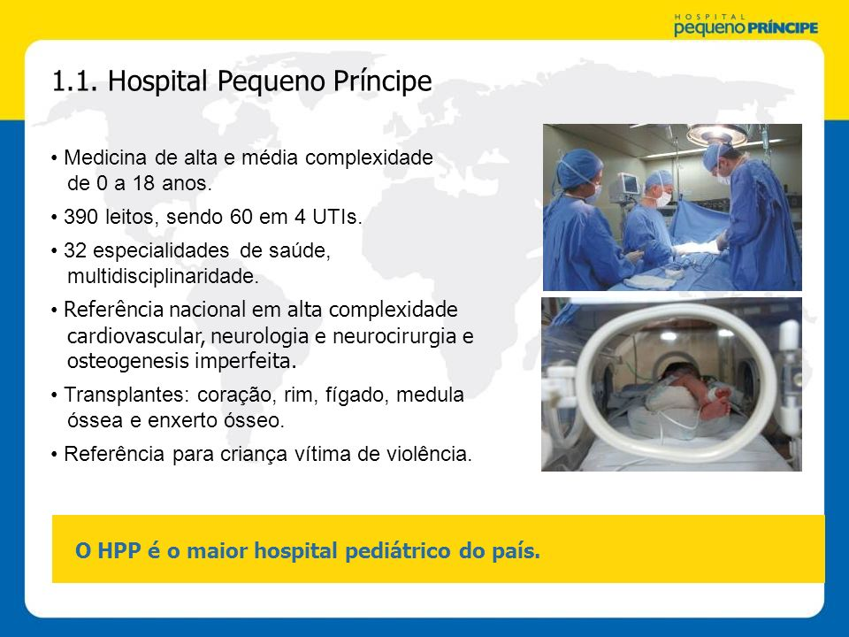 1.1. Hospital Pequeno Príncipe
