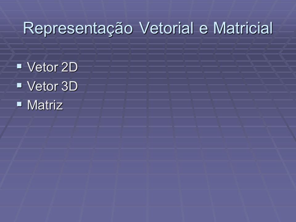 Representação Vetorial e Matricial