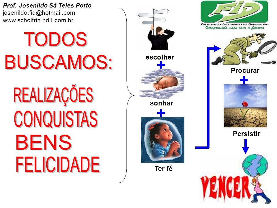 + TODOS BUSCAMOS: REALIZAÇÕES CONQUISTAS BENS FELICIDADE escolher