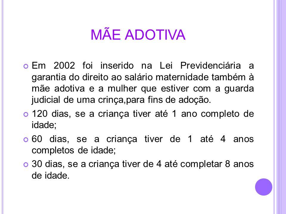 MÃE ADOTIVA