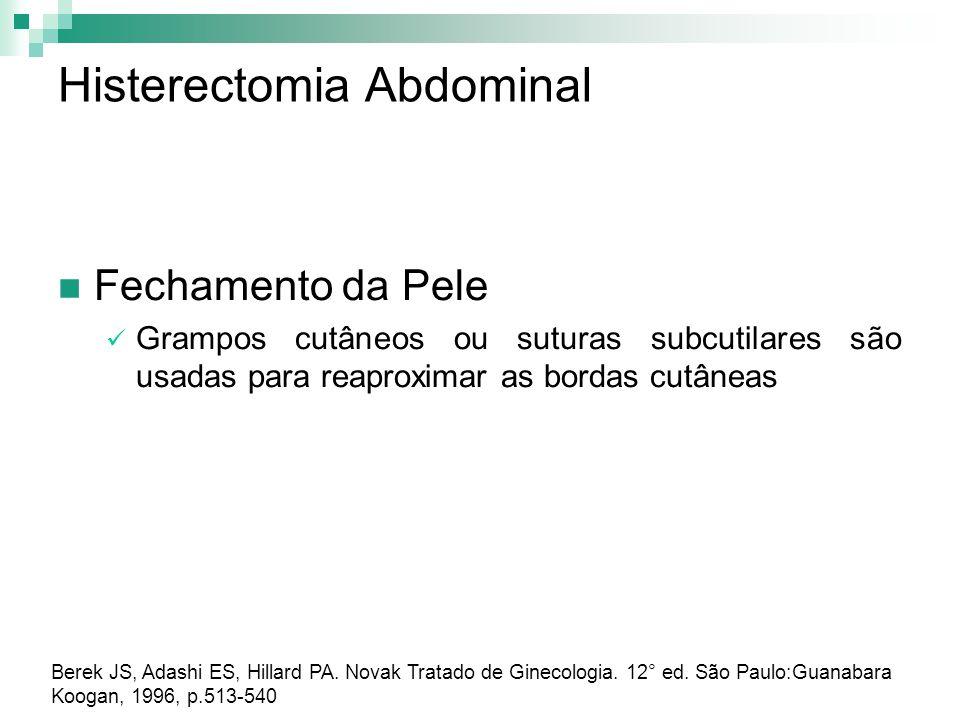 Histerectomia Abdominal