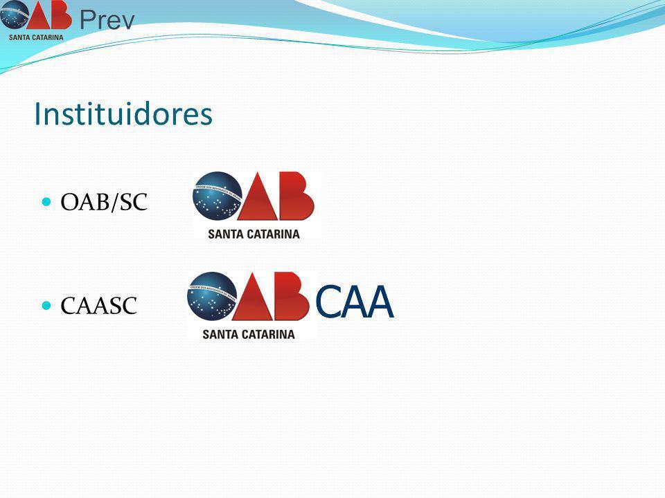 Instituidores OAB/SC CAASC CAA