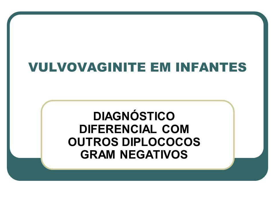 VULVOVAGINITE EM INFANTES