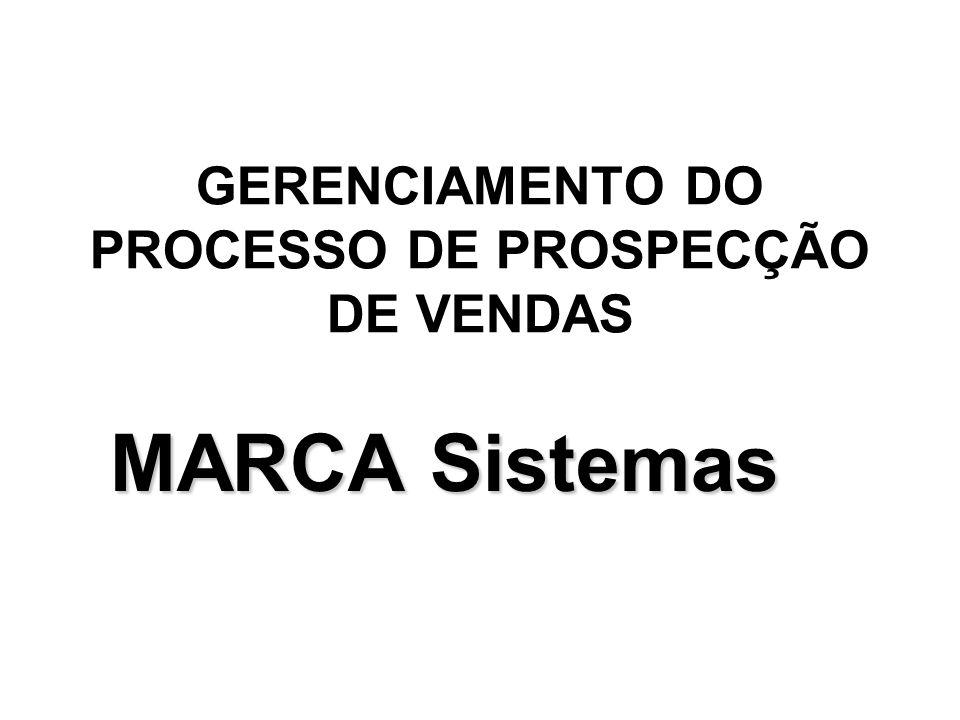 GERENCIAMENTO DO PROCESSO DE PROSPECÇÃO DE VENDAS
