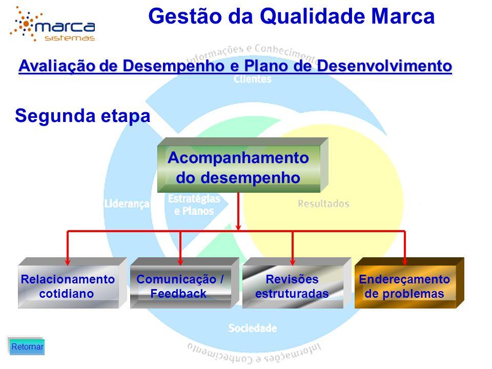 Segunda etapa Avaliação de Desempenho e Plano de Desenvolvimento