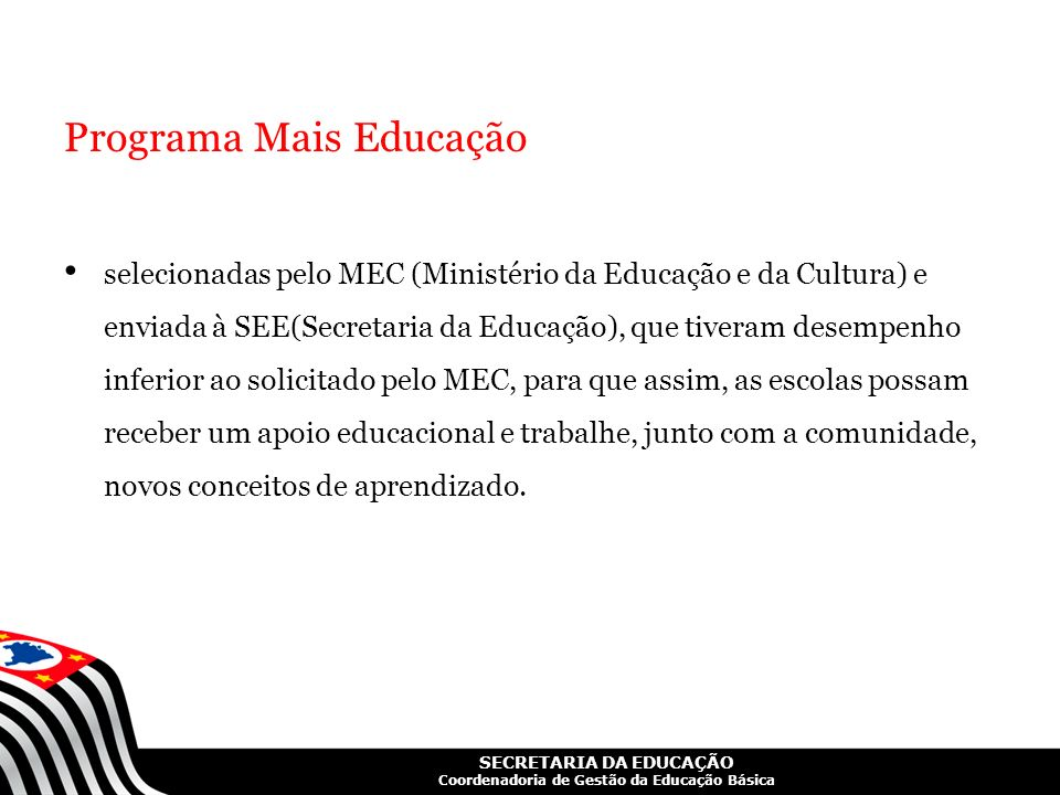 Programa Mais Educação