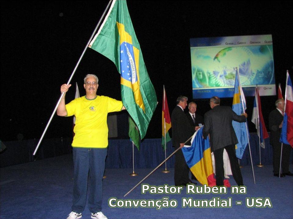 Pastor Ruben na Convenção Mundial - USA