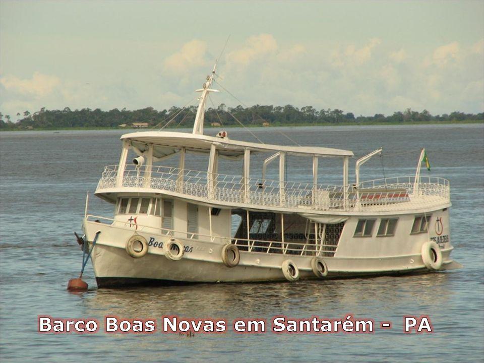 Barco Boas Novas em Santarém - PA