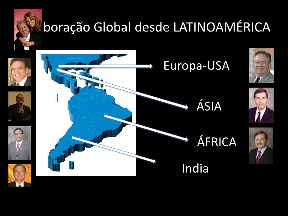 Colaboração Global desde LATINOAMÉRICA