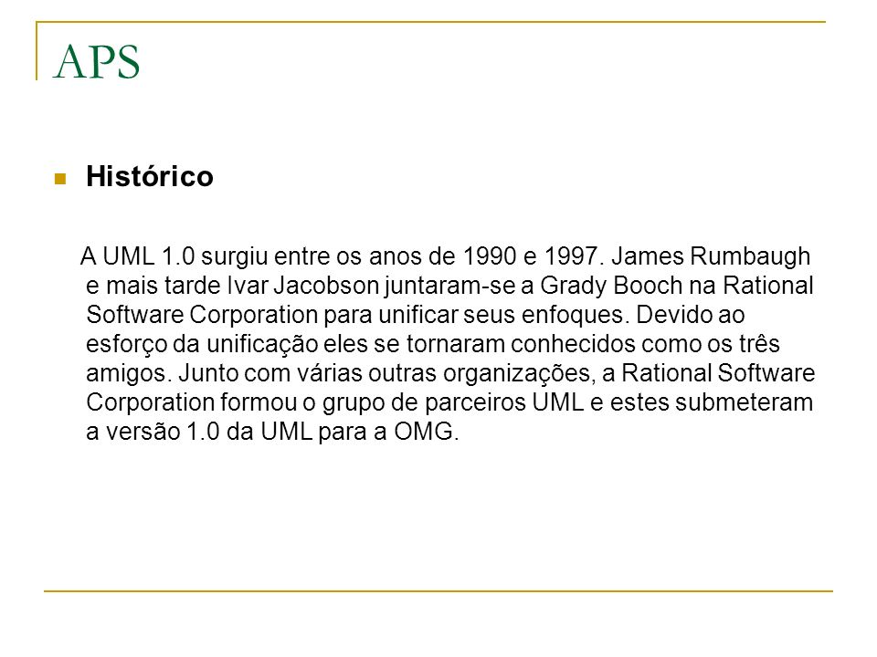 APS Histórico.
