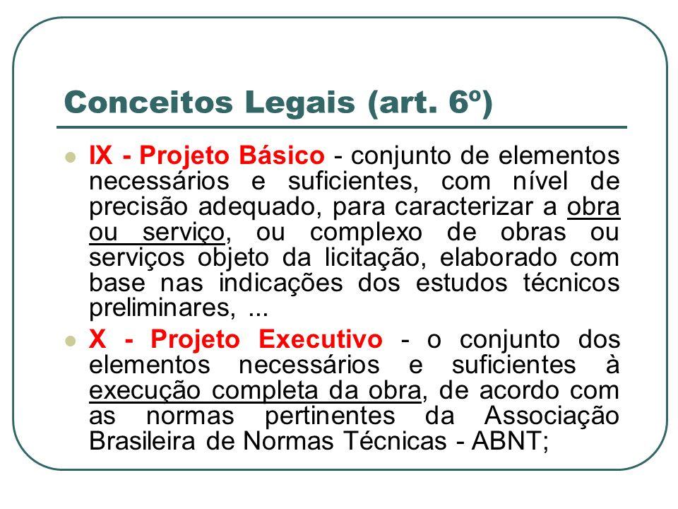 Conceitos Legais (art. 6º)