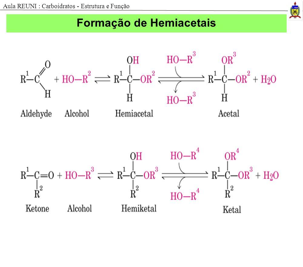 Formação de Hemiacetais