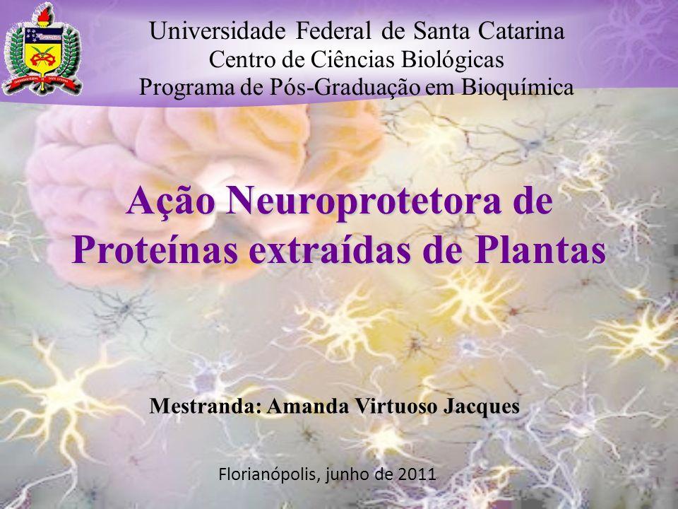 Ação Neuroprotetora de Proteínas extraídas de Plantas