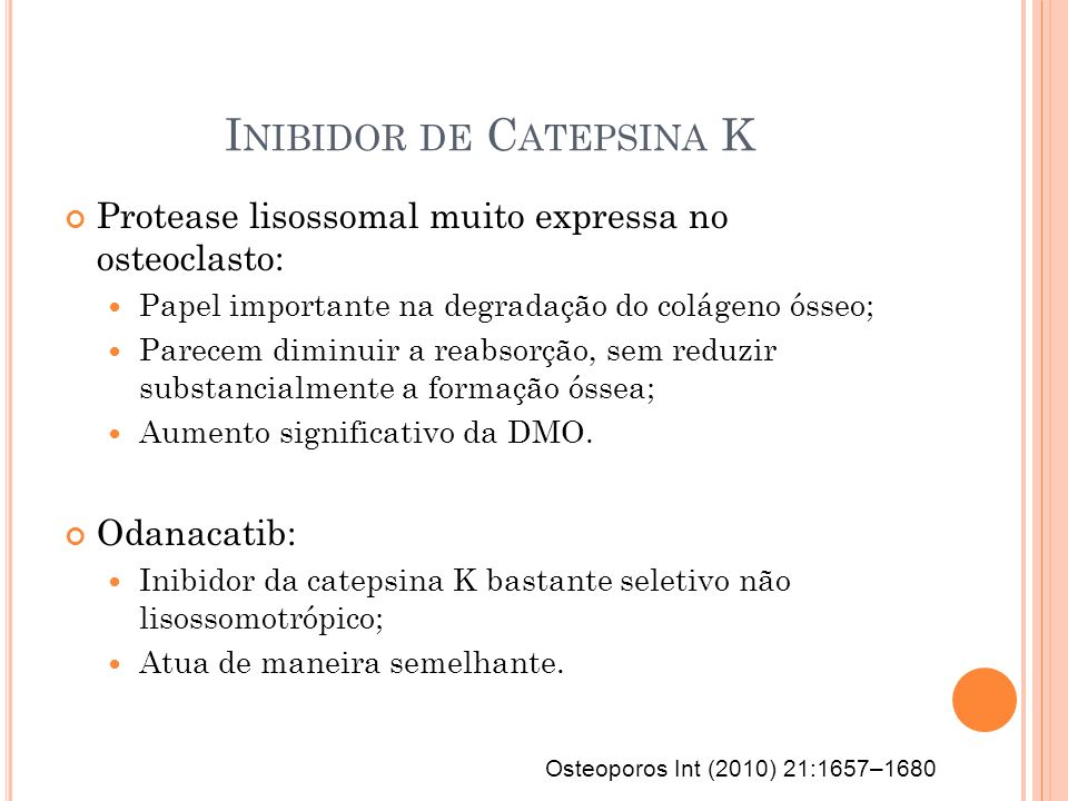 Inibidor de Catepsina K