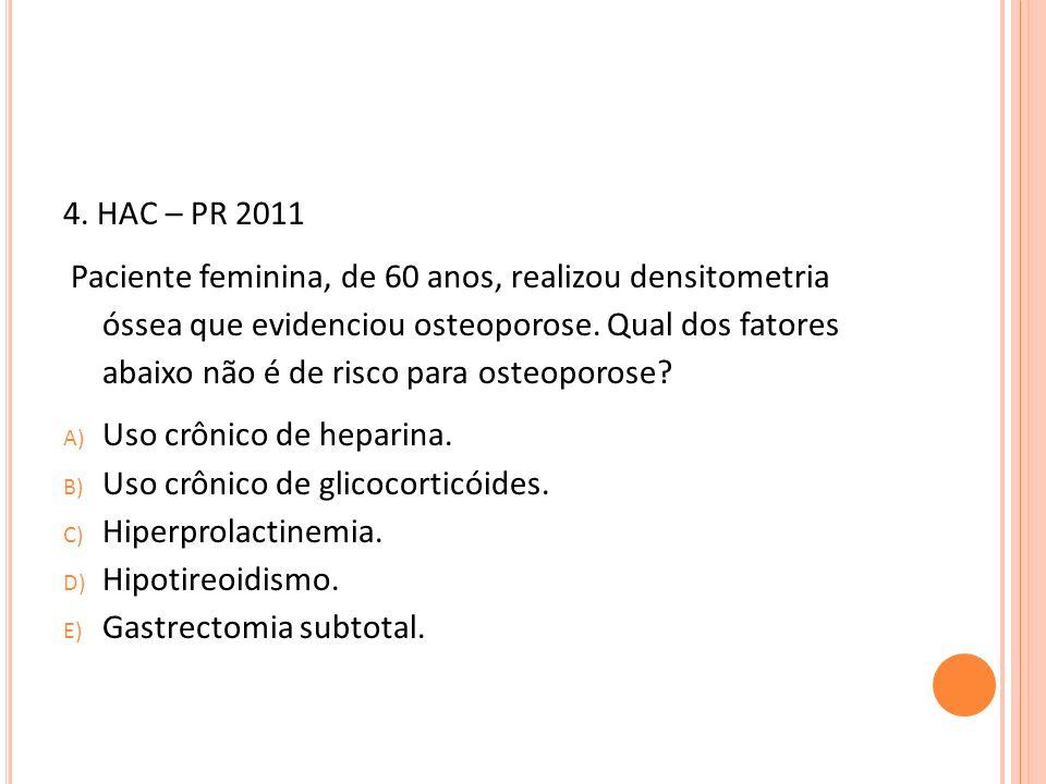 4. HAC – PR 2011