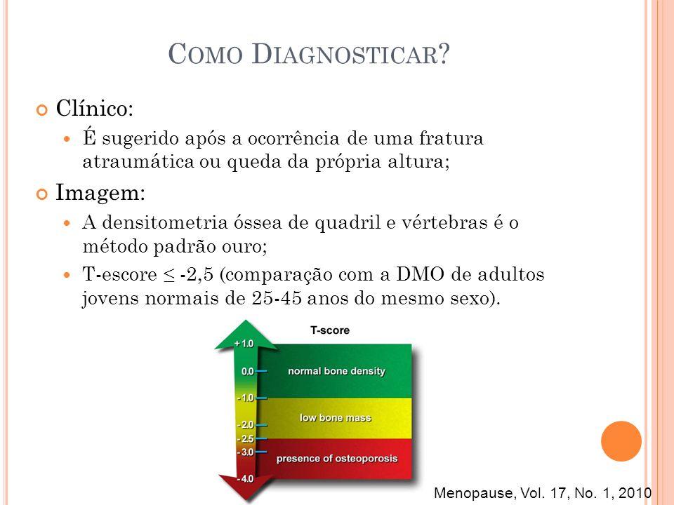 Como Diagnosticar Clínico: Imagem: