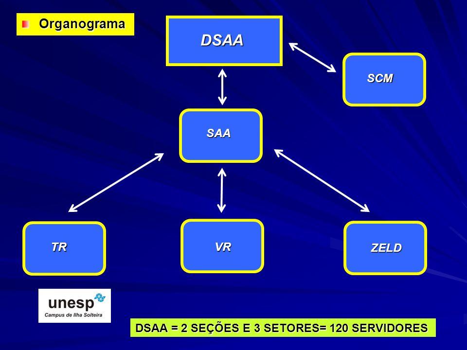 DSAA Organograma SCM SAA TR VR ZELD