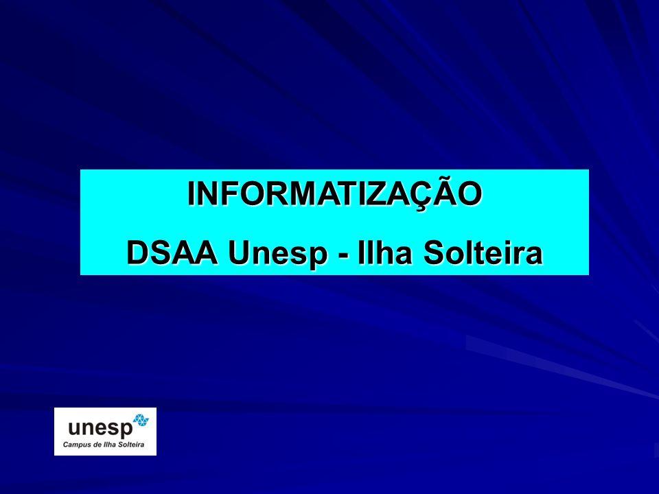 DSAA Unesp - Ilha Solteira