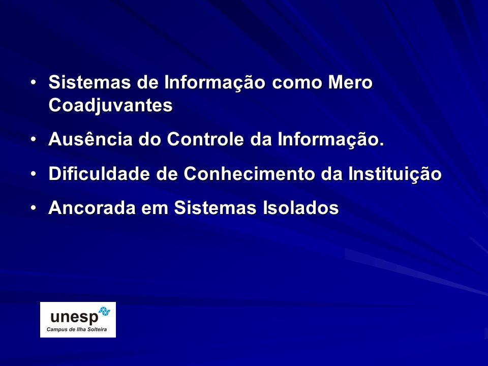 Sistemas de Informação como Mero Coadjuvantes
