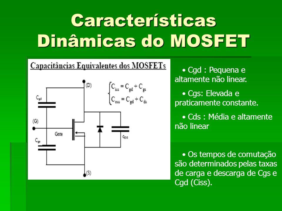 Características Dinâmicas do MOSFET