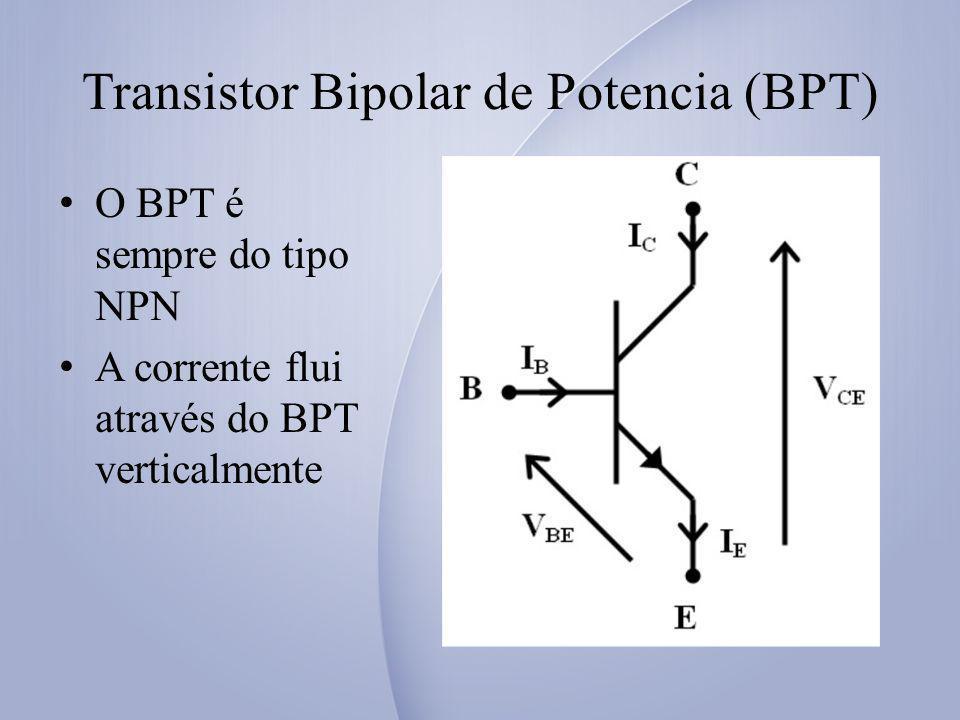 Transistor Bipolar de Potencia (BPT)