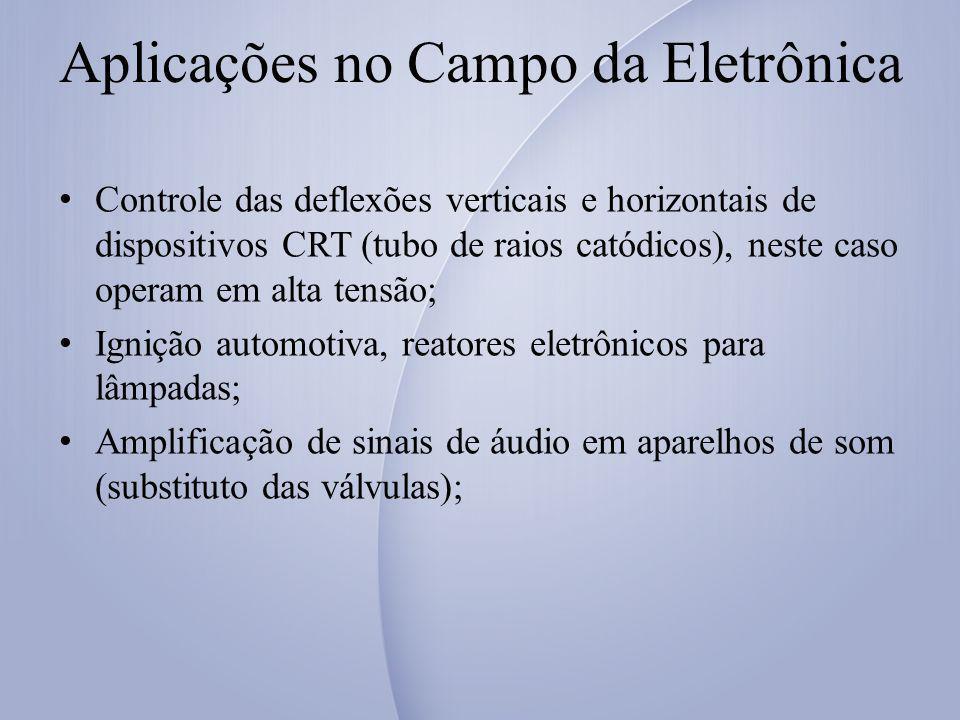 Aplicações no Campo da Eletrônica