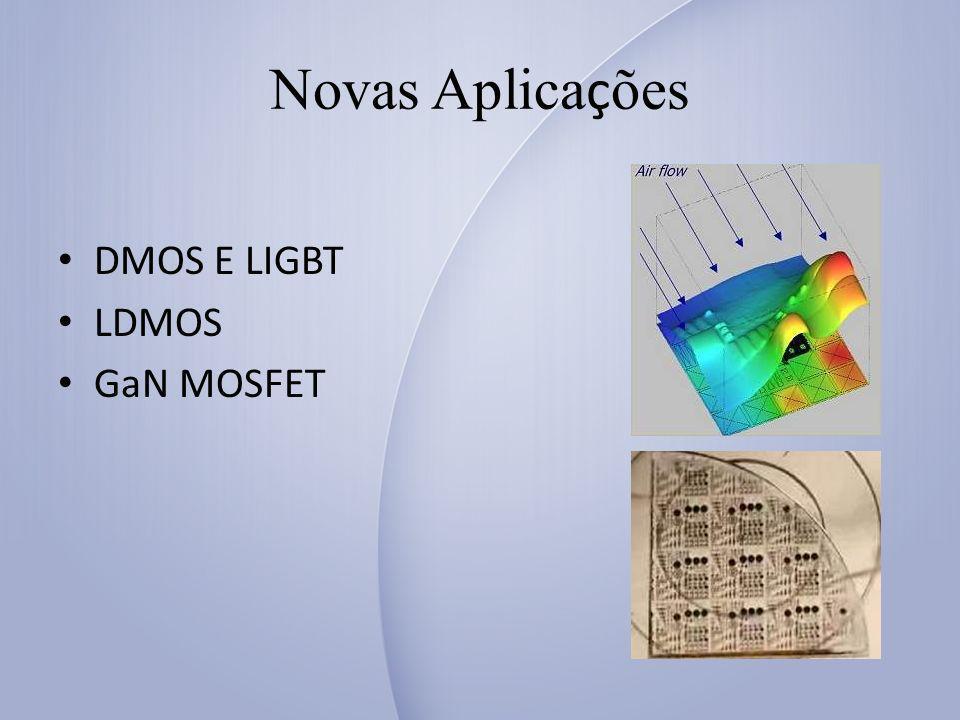 Novas Aplicações DMOS E LIGBT LDMOS GaN MOSFET