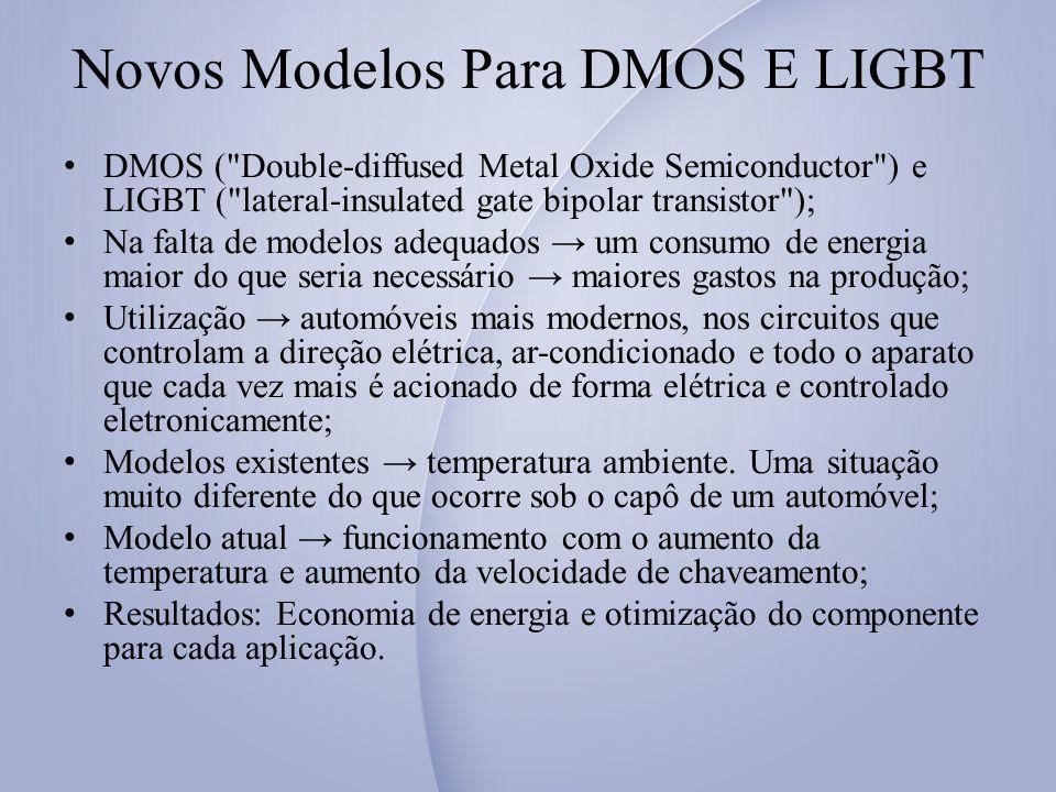Novos Modelos Para DMOS E LIGBT