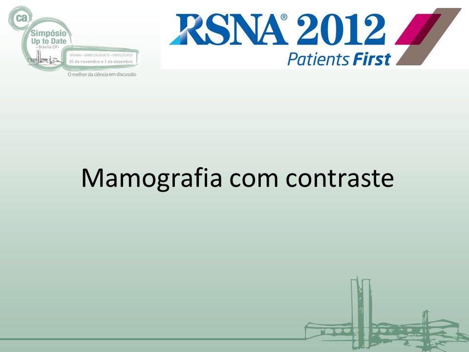 Mamografia com contraste