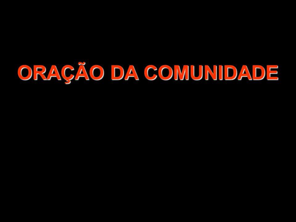 ORAÇÃO DA COMUNIDADE 1/2